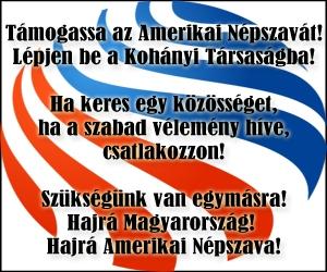 Amerikai Népszava, Kohányi Társaság