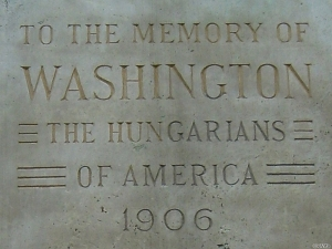 George Washington szobra, Budapest, Városliget