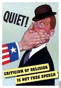 Valláskritika vs. szólásszabadság