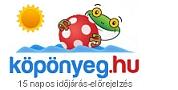 köpönyeg.hu: Időjárásjelzés 15 napra
