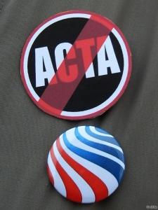 ACTA tiltakozás Budapest