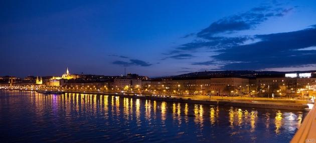 Budapesti naplemente / Budapest sunset