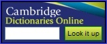Cambridge Dictionaries Online