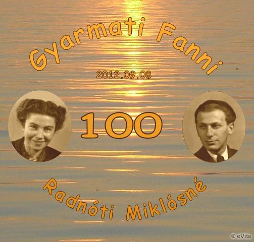 Gyarmati Fanni köszöntése 100. születésnapján