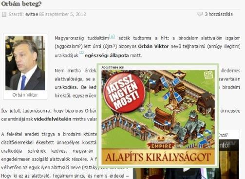 Orbán & WP reklám