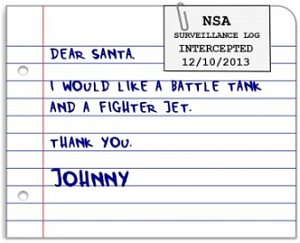 NSA vs Santa Claus