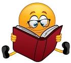 emoji reading book