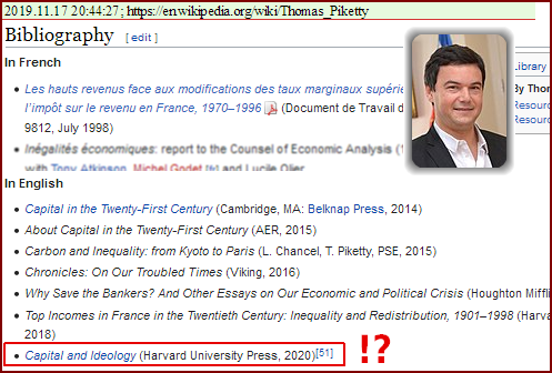 Wikipedia: Thomas Piketty