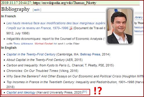 Wikipedia: Thomas Piketty