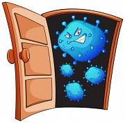coronavirus: Door Open